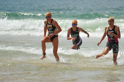 Kathrin Muller, Kathy Tremblay, Yuka Sato - Mooloolaba Women's ITU World Cup, 28 March 2010 Photos by Des Thureson: http://disci.smugmug.com