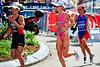 "Liz Blatchford still confident she'll chase down Laura Bennett. Also Kathy Tremblay and Ainhoa Murua - 2010 Mooloolaba Women's ITU World Cup Triathlon, 28 March 2010. - Photos by Des Thureson: <a href=""http://disci.smugmug.com"">http://disci.smugmug.com</a>."