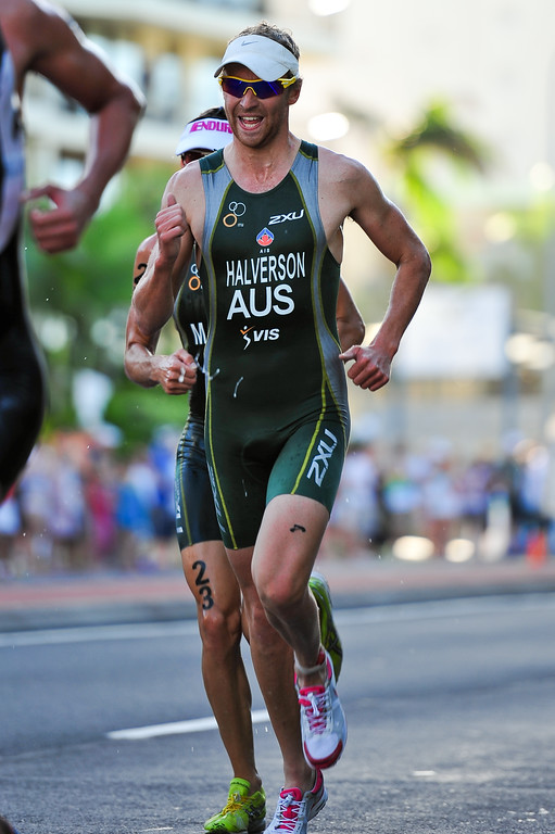 Gareth Halverson - 2010 Mooloolaba Men's ITU World Cup Triathlon, Sunshine Coast, Queensland, Australia; 27 March 2010. Photos by Des Thureson.