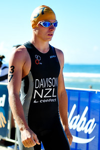 Tom Davison - 2010 Mooloolaba Men's ITU World Cup Triathlon, Sunshine Coast, Queensland, Australia; 27 March 2010. Photos by Des Thureson.