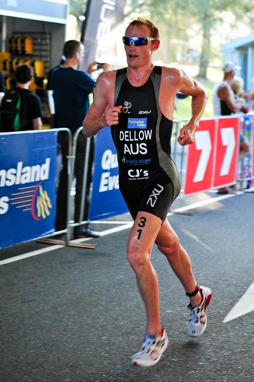 David Dellow - Mooloolaba Men's ITU World Cup Triathlon, 27 March 2010