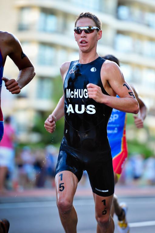 Josh McHugh - Mooloolaba Men's ITU World Cup Triathlon, 27 March 2010