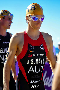 Andreas Giglmayr - 2010 Mooloolaba Men's ITU World Cup Triathlon, Sunshine Coast, Queensland, Australia; 27 March 2010. Photos by Des Thureson.