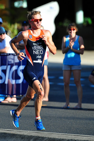 Jan van Berkel - Mooloolaba Men's ITU World Cup Triathlon, 27 March 2010