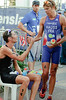 David Hauss, Stuart Hayes - Mooloolaba Men's ITU World Cup Triathlon, 27 March 2010