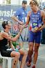 David Hauss, Stuart Hayes - Mooloolaba Men's ITU World Cup Triathlon, 27 March 2010