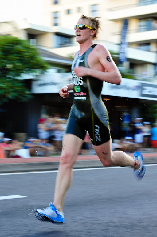 James Seear - Mooloolaba Men's ITU World Cup Triathlon, 27 March 2010
