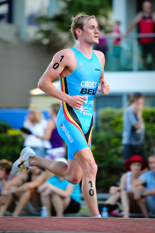 Peter Croes - 2010 Mooloolaba Men's ITU World Cup Triathlon, Sunshine Coast, Queensland, Australia; 27 March 2010. Photos by Des Thureson.