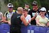 Family Hug! - Run Leg: Noosa Triathlon, Noosa Heads, Sunshine Coast, Queensland, Australia; 31 October 2010.