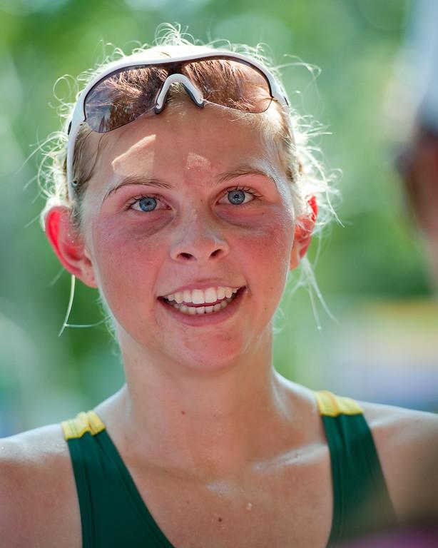 Emma Jackson - 2011 Noosa Triathlon, Noosa Heads, Sunshine Coast, Queensland, Australia; 30 October 2011.