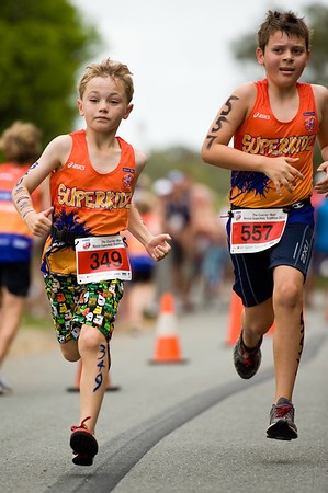 2011 Courier Mail Noosa Superkidz Triathlon.