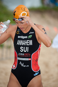 2011 Mooloolaba ITU World Cup Triathlon - Women. Mooloolaba Triathlon Festival, Sunday 27 March 2011, Sunshine Coast, Queensland, Australia. Photos by Des Thureson:  http://disci.smugmug.com.