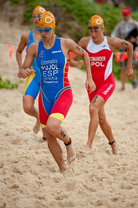 Maria Pujol - 2011 Mooloolaba ITU World Cup Triathlon - Women. Mooloolaba Triathlon Festival, Sunday 27 March 2011, Sunshine Coast, Queensland, Australia. Photos by Des Thureson:  http://disci.smugmug.com.