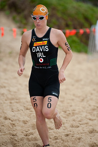 Emma Davis - 2011 Mooloolaba ITU World Cup Triathlon - Women. Mooloolaba Triathlon Festival, Sunday 27 March 2011, Sunshine Coast, Queensland, Australia. Photos by Des Thureson:  http://disci.smugmug.com.