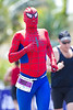 "Spiderman (""Beech"") - Run Leg - 2011 Noosa Triathlon, Noosa Heads, Sunshine Coast, Queensland, Australia; 30 October 2011."