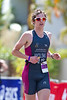 "Number 3764, ""Shredz"" Wolski, Queensland Development Squad - Run Leg - 2011 Noosa Triathlon, Noosa Heads, Sunshine Coast, Queensland, Australia; 30 October 2011."