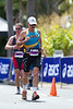 Run Leg - 2011 Noosa Triathlon, Noosa Heads, Sunshine Coast, Queensland, Australia; 30 October 2011.