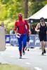 "Spiderman (""Beech"") - Run Leg - 2011 Noosa Triathlon, Noosa Heads, Sunshine Coast, Queensland, Australia; 30 October 2011."
