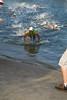 Clayton Fettell - Swim Leg & First Transition (T1) - 2011 Noosa Triathlon, Noosa Heads, Sunshine Coast, Queensland, Australia; 30 October 2011.
