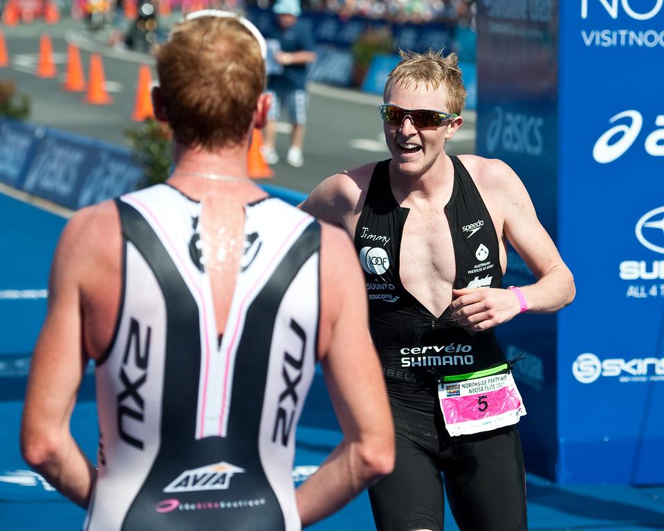 James Seear - 2011 Noosa Triathlon, Noosa Heads, Sunshine Coast, Queensland, Australia; 30 October 2011. (Jimmy Seear)
