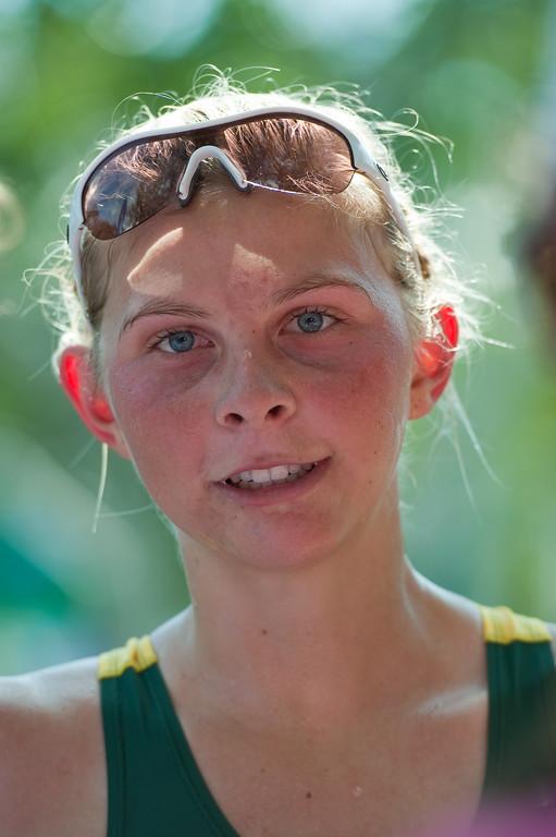 Interview: World Number 4 Emma Jackson - 2011 Noosa Triathlon, Noosa Heads, Sunshine Coast, Queensland, Australia; 30 October 2011.