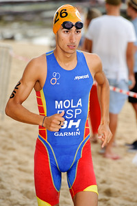 Mario Mola, 2012 Subaru Mooloolaba Men's ITU Triathlon World Cup; Mooloolaba, Sunshine Coast, Queensland, Australia; 24 March 2012. Photos by Des Thureson - disci.smugmug.com.