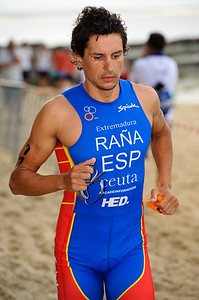 Ivan Rana, 2012 Subaru Mooloolaba Men's ITU Triathlon World Cup; Mooloolaba, Sunshine Coast, Queensland, Australia; 24 March 2012. Photos by Des Thureson - disci.smugmug.com.