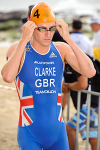 Will Clarke, 2012 Subaru Mooloolaba Men's ITU Triathlon World Cup; Mooloolaba, Sunshine Coast, Queensland, Australia; 24 March 2012. Photos by Des Thureson - disci.smugmug.com.