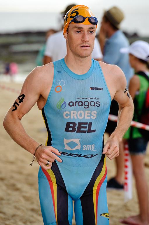 Peter Croes, 2012 Subaru Mooloolaba Men's ITU Triathlon World Cup; Mooloolaba, Sunshine Coast, Queensland, Australia; 24 March 2012. Photos by Des Thureson - disci.smugmug.com.