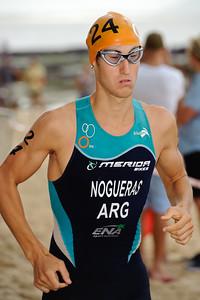 Rodrigo Nogueras, 2012 Subaru Mooloolaba Men's ITU Triathlon World Cup; Mooloolaba, Sunshine Coast, Queensland, Australia; 24 March 2012. Photos by Des Thureson - disci.smugmug.com.