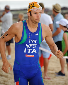 Daniel Hofer, 2012 Subaru Mooloolaba Men's ITU Triathlon World Cup; Mooloolaba, Sunshine Coast, Queensland, Australia; 24 March 2012. Photos by Des Thureson - disci.smugmug.com.