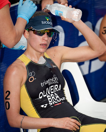 Pamela Nascimento Oliveira, 2012 Subaru Mooloolaba Women's ITU Triathlon World Cup; Mooloolaba, Sunshine Coast, Queensland, Australia; 25 March 2012. Photos by Des Thureson - disci.smugmug.com.