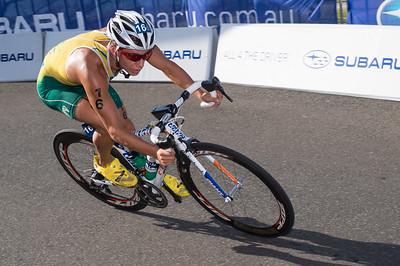 2013 Subaru Mooloolaba Men's ITU Triathlon World Cup; Mooloolaba, Sunshine Coast, Queensland, Australia; 16 March 2013. Photos by Des Thureson - disci.smugmug.com.
