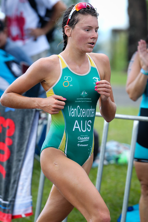 2013 Subaru Mooloolaba Women's ITU Triathlon World Cup; Mooloolaba, Sunshine Coast, Queensland, Australia; 17 March 2013. Photos by Des Thureson - disci.smugmug.com. Camera 2.