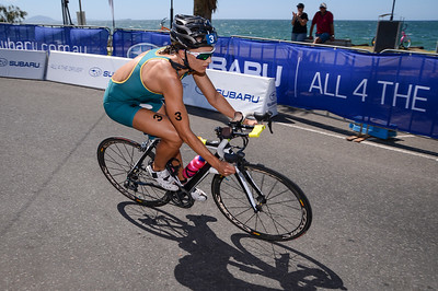 2013 Subaru Mooloolaba Women's ITU Triathlon World Cup; Mooloolaba, Sunshine Coast, Queensland, Australia; 17 March 2013. Photos by Des Thureson - disci.smugmug.com. Camera 1.