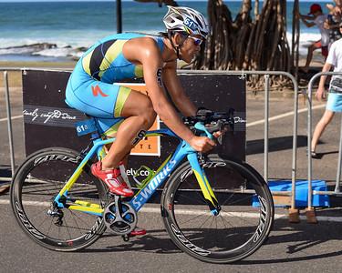 Shen-yen Hsieh - Subaru Mooloolaba Men's ITU Triathlon World Cup - Mooloolaba Multi Sport Festival Super Saturday, 15 March 2014 - Mooloolaba, Sunshine Coast, Queensland, Australia. Photos by Des Thureson - http://disci.smugmug.com - Camera 1.