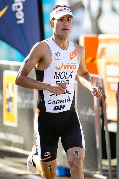 "Mario Mola - Subaru Mooloolaba Men's ITU Triathlon World Cup - Mooloolaba Multi Sport Festival Super Saturday, 15 March 2014. Camera 2 - Mooloolaba, Sunshine Coast, Queensland, Australia. Photos by Des Thureson - <a href=""http://disci.smugmug.com"">http://disci.smugmug.com</a>"