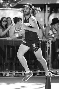 Alternate Processing: Kodak BW CN Curve - 2015 Noosa Legends Triathlon - 2015 Super Saturday at the Noosa Triathlon Multi Sport Festival, Noosa Heads, Sunshine Coast, Queensland, Australia. Camera 2. Photos by Des Thureson - http://disci.smugmug.com