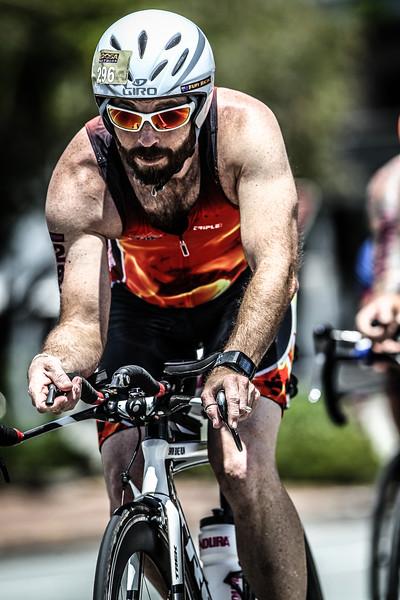 Alternate Processing: Gritty Detailed Effect - 2015 Noosa Triathlon, Noosa Heads, Sunshine Coast, Queensland, Australia; 1 November. Camera 2. Photos by Des Thureson - disci.smugmug.com