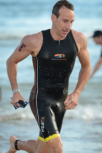 Pete Jacobs - Swim Leg - 2015 Noosa Triathlon, Noosa Heads, Sunshine Coast, Queensland, Australia; 1 November. Camera 1. Photos by Des Thureson - disci.smugmug.com
