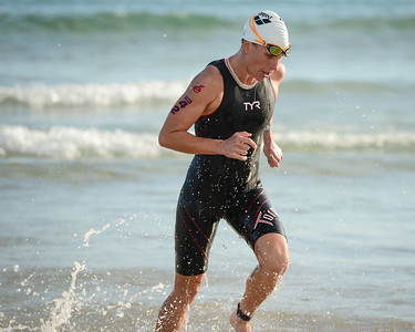Caroline Steffen - Swim Leg - 2015 Noosa Triathlon, Noosa Heads, Sunshine Coast, Queensland, Australia; 1 November. Camera 1. Photos by Des Thureson - disci.smugmug.com