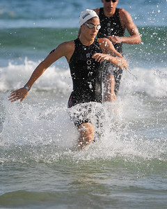 Ashleigh Gentle - 2015 Noosa Triathlon, Noosa Heads, Sunshine Coast, Queensland, Australia; 1 November. Camera 2. Photos by Des Thureson - disci.smugmug.com