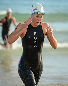Ellie Salthouse - Swim Leg - 2015 Noosa Triathlon, Noosa Heads, Sunshine Coast, Queensland, Australia; 1 November. Camera 1. Photos by Des Thureson - disci.smugmug.com