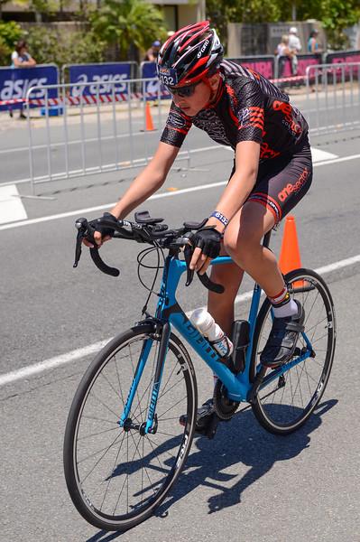 Team 2 AND HALF MEN - Bike Leg - 2016 Noosa Triathlon, Noosa Heads, Sunshine Coast, Queensland, Australia; 30 October. Camera 2. Photos by Des Thureson - disci.smugmug.com