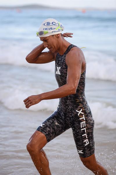 Rachel James - Swim Leg - 2016 Noosa Triathlon, Noosa Heads, Sunshine Coast, Queensland, Australia; 30 October. Camera 2. Photos by Des Thureson - disci.smugmug.com
