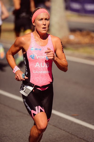 "VSCO Film Preset: ""N - Kodak Gold 100 Warm +"" - Kirralee Seidel - Run Leg - 2016 Noosa Triathlon, Noosa Heads, Sunshine Coast, Queensland, Australia; 30 October. Camera 2. Photos by Des Thureson - disci.smugmug.com"