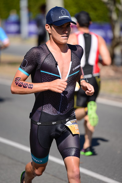 Lindsey LAWRY - Run Leg - 2016 Noosa Triathlon, Noosa Heads, Sunshine Coast, Queensland, Australia; 30 October. Camera 2. Photos by Des Thureson - disci.smugmug.com