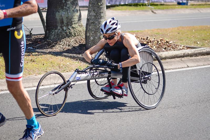 Run Leg - 2016 Noosa Triathlon, Noosa Heads, Sunshine Coast, Queensland, Australia; 30 October. Camera 2. Photos by Des Thureson - disci.smugmug.com