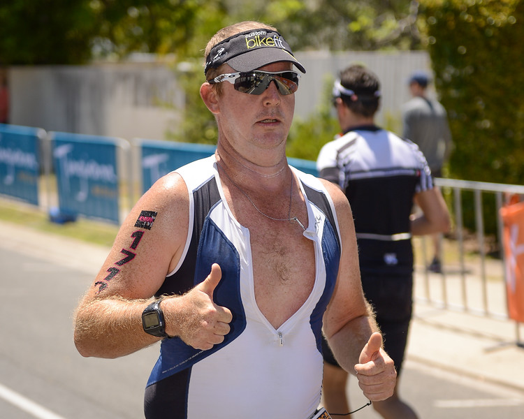 Ryan Fogg - Run Leg - 2016 Noosa Triathlon, Noosa Heads, Sunshine Coast, Queensland, Australia; 30 October. Camera 2. Photos by Des Thureson - disci.smugmug.com