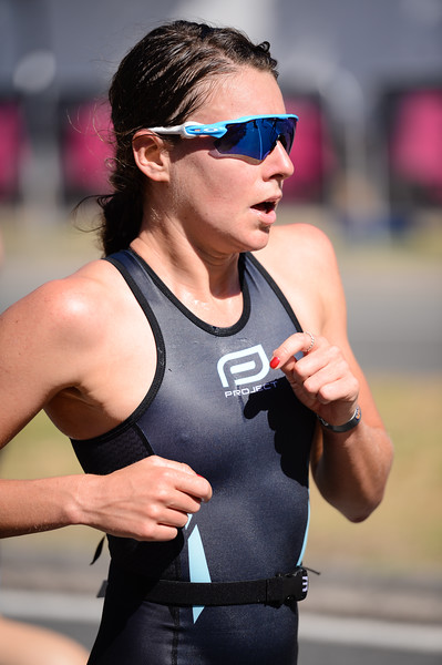 Natalie Van Coevorden - Run Leg - 2016 Noosa Triathlon, Noosa Heads, Sunshine Coast, Queensland, Australia; 30 October. Camera 2. Photos by Des Thureson - disci.smugmug.com